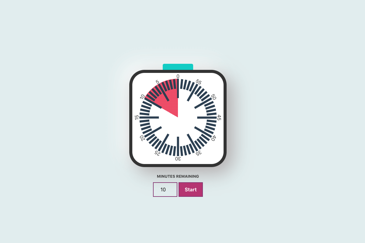 Workshop Countdown Clock